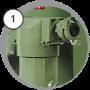 Аппарат BlastRazor Z-50RC (DBS-50RC) c дозатором FSV
