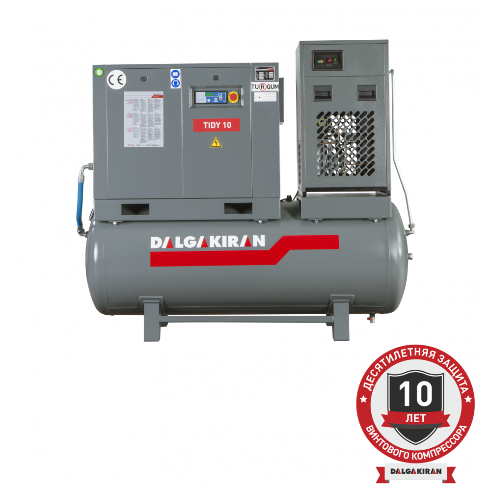 Компрессор винтовой TIDY10-10-500D  (Compact)