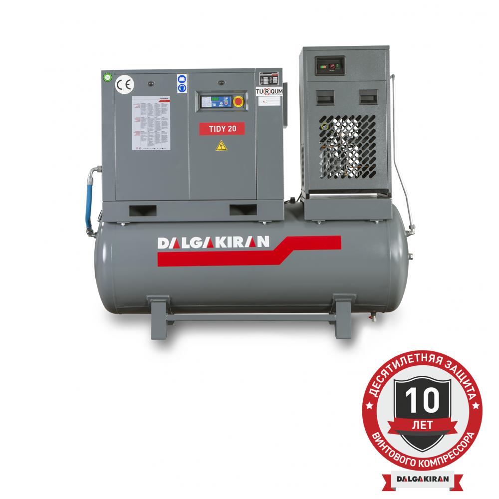 Компрессор винтовой TIDY15-10 500D  (Compact)