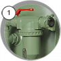 Аппарат BlastRazor Z-100 (DBS-100) c дозатором FSV